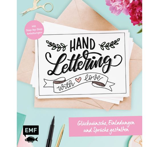 "Buch ""Handlettering with love"""