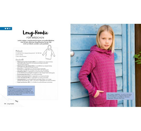 "Buch ""Alles Jersey - Hoodies for Kids"""