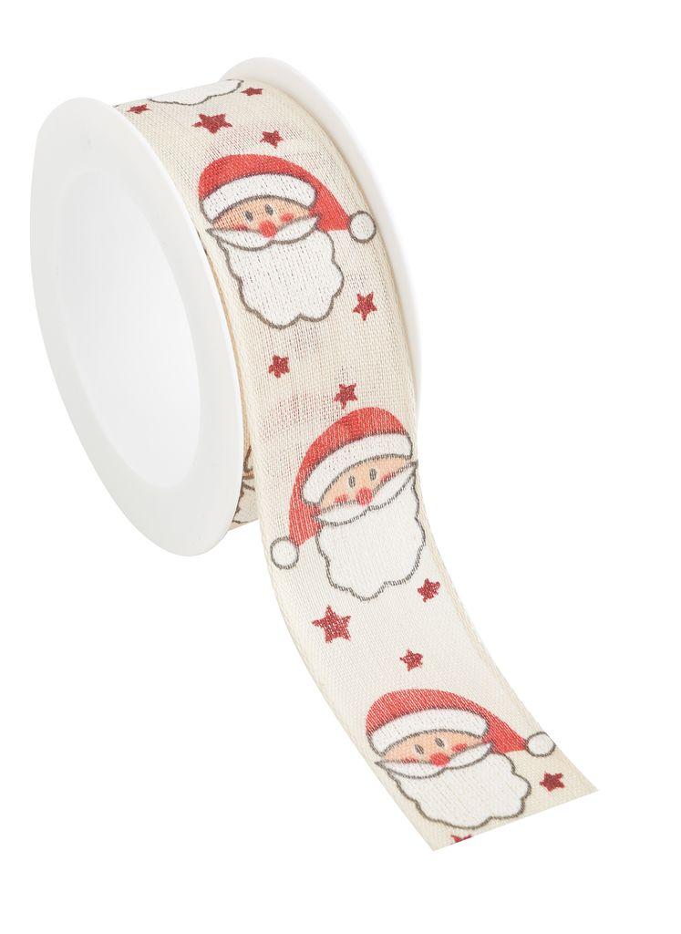Weihnachtliches Stoffband