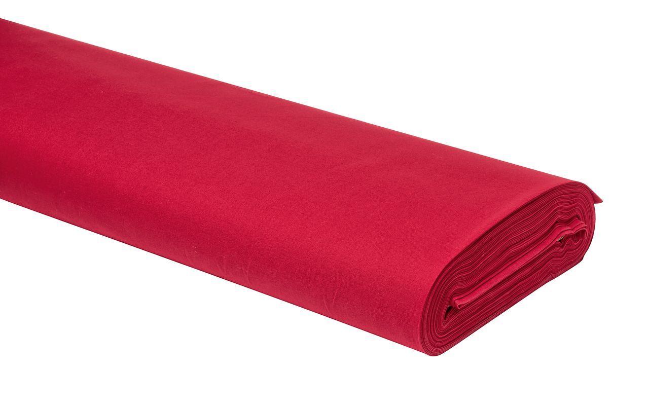Roter Baumwollstoff - ganzjährig unverzichtbar