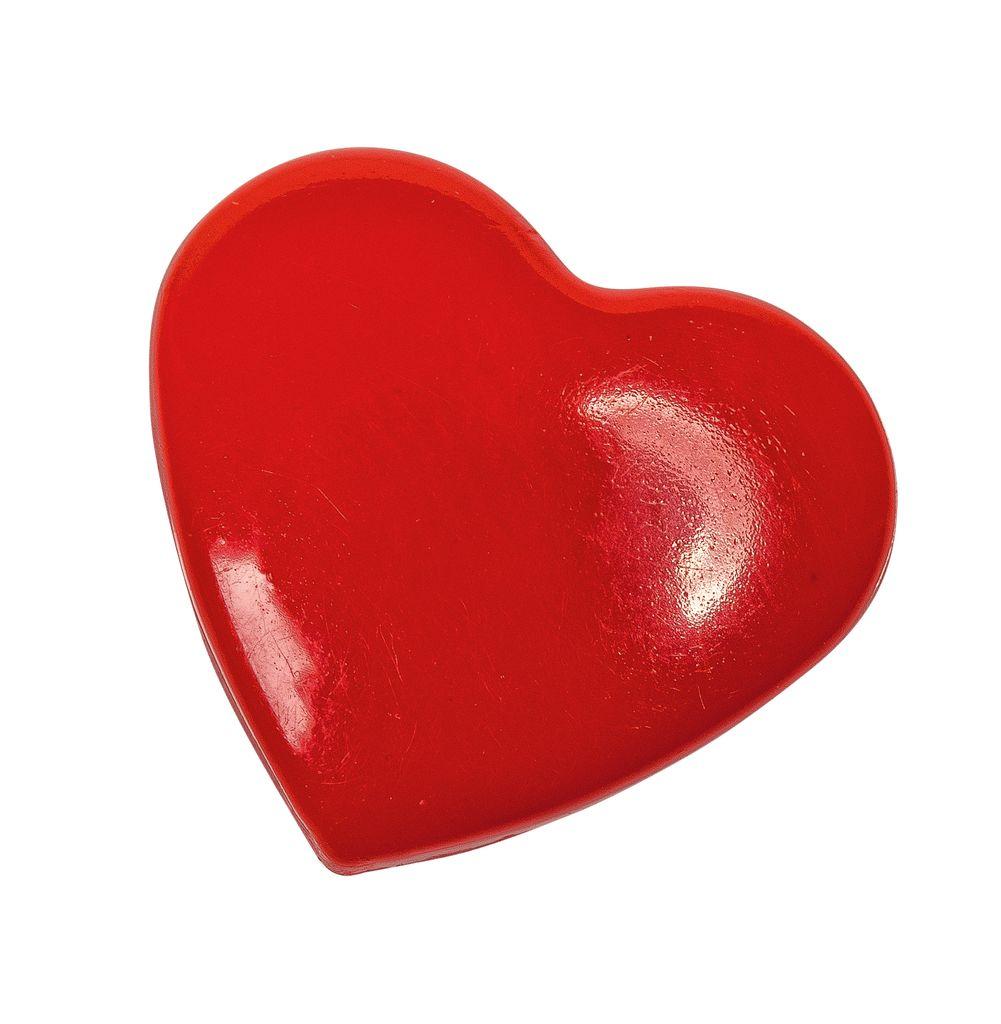 Herz-Druckknöpfe
