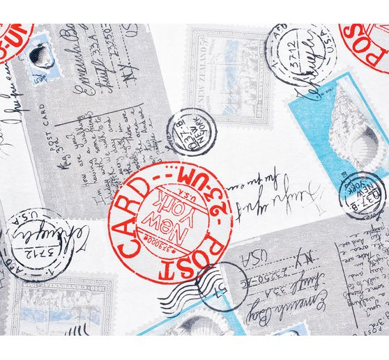 Motivstoff 'Alte Postkarten'
