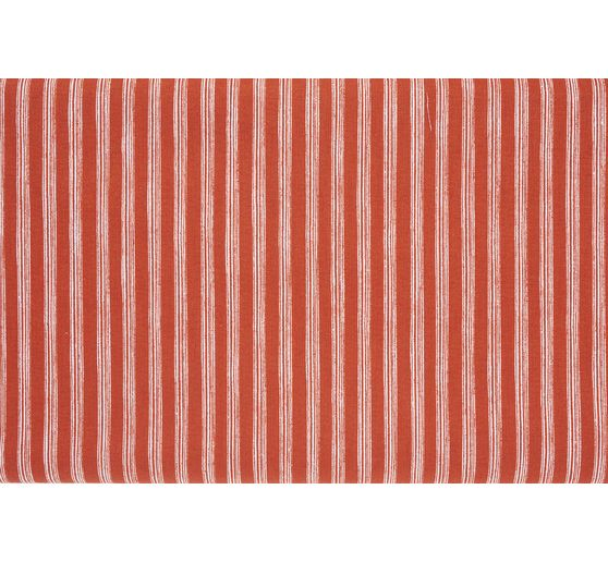 "Baumwoll-Stoff ""Nautical Stripes Orange"", Meterware"
