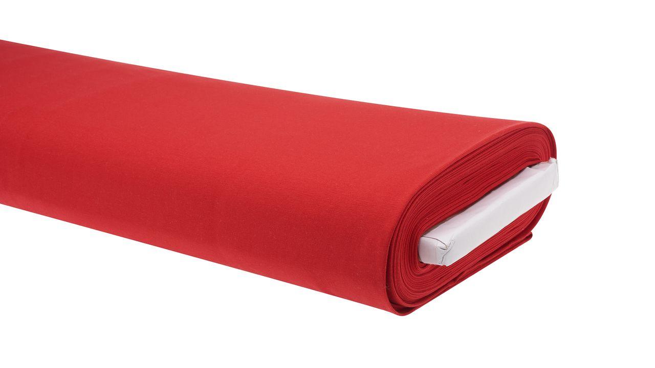 Roter Stoff für Advent und Weihnachten
