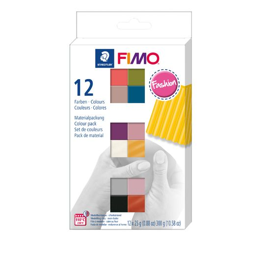 "FIMO soft Materialpackung ""Fashion Colours"""