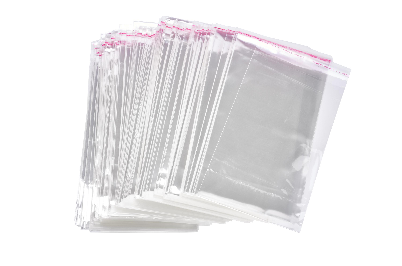 100 Schutzh/üllen f/ür Karten 22,7x11,6 cm