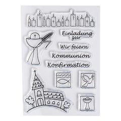 Konfirmationsspruch Karte.Kommunion Konfirmation Karten Kerzen Dekoration Kaufen