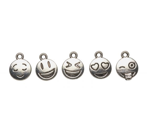"VBS Charms-Anhänger ""Emoticon"""