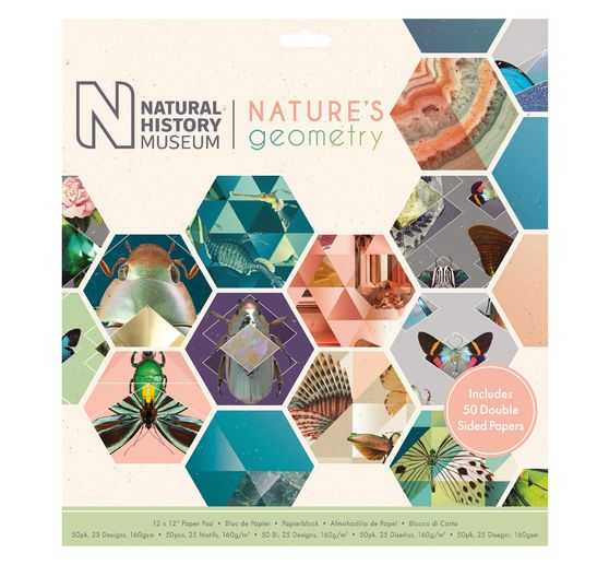 "Scrapbook-Block ""Nature's Geometry"""
