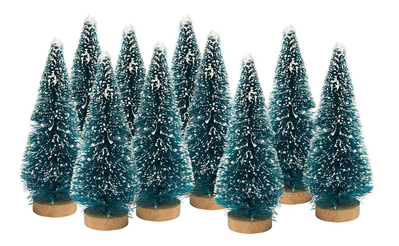 Miniatur-Tannenbäume