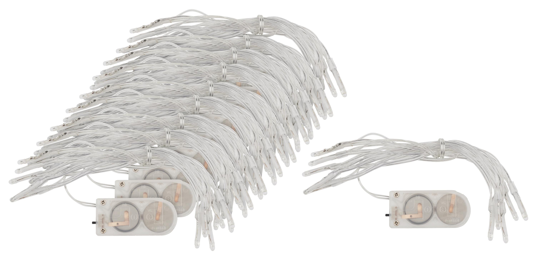10 Mini-LED-Lichterketten VBS Großhandelspackung 20 LEDs mit Knopfzellen