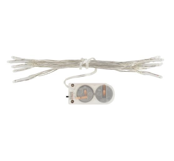 VBS Mini-LED-Lichterkette, 10 LEDs