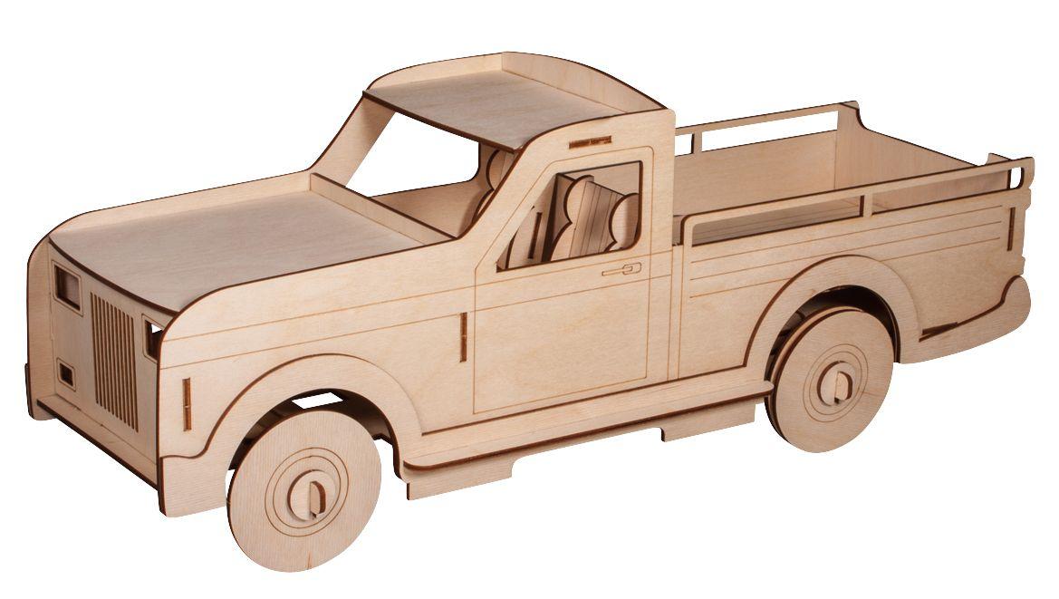 Holz-Bastelset Automodell