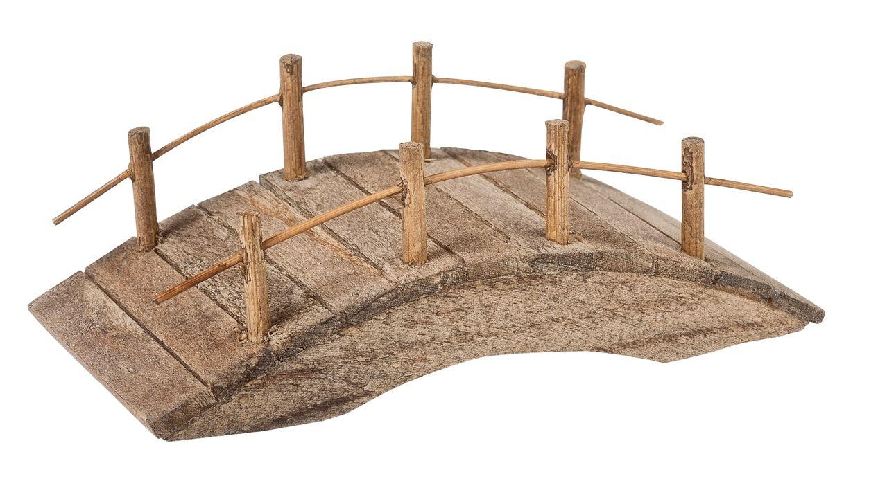 Holzbrücke für die Krippenlandschaft