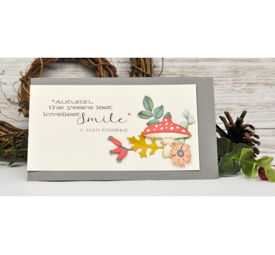 "Sizzix Thinlits Stanzschablone ""Funky Foliage by Tim Holtz"""