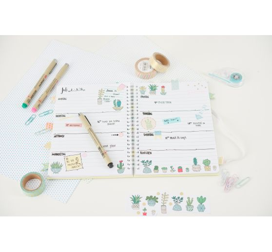 "Washi Tape Set ""Life Planner"