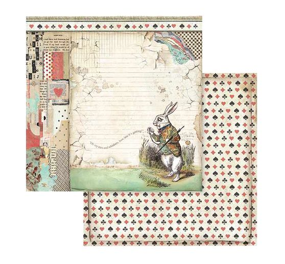 "Scrapbook-Block ""Alice"""