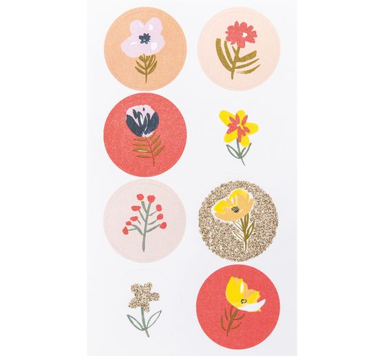 "Sticker ""Blumen Hotfoil"""