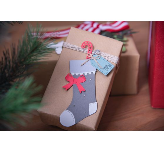 "Sizzix Thinlits Stanzschablone ""Christmas Stocking by Sophie Guilar"""