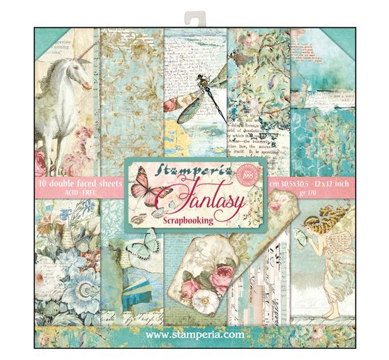 "Scrapbook-Block ""Wonderland"""