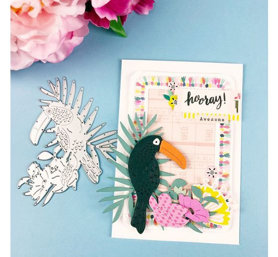 "Sizzix Thinlits Stanzschablone ""Tropical Bird"""