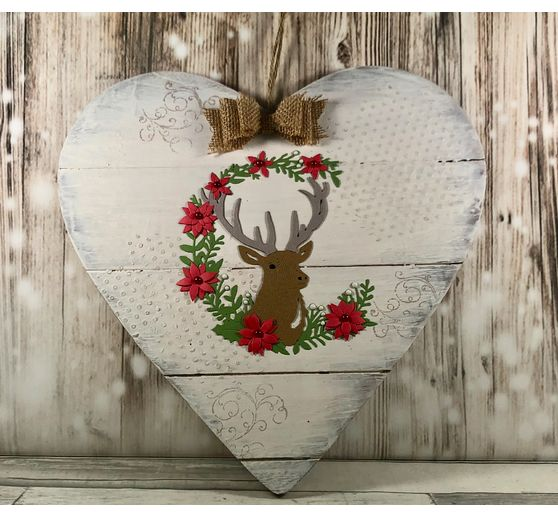 "Sizzix Thinlits Stanzschablone ""Deer"""
