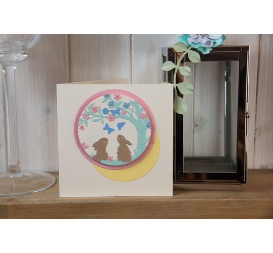 "Sizzix Thinlits Stanzschablone ""Bunny Scene by Olivia Rose"""