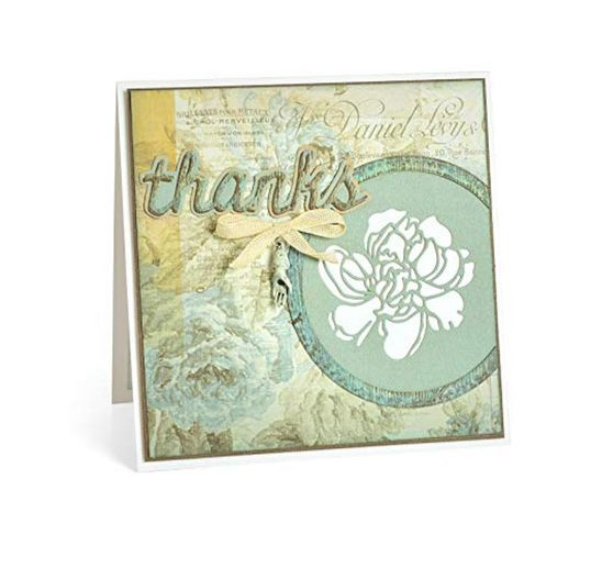 "Sizzix Thinlits Stanzschablone ""Cutout Blossoms by Tim Holtz"""