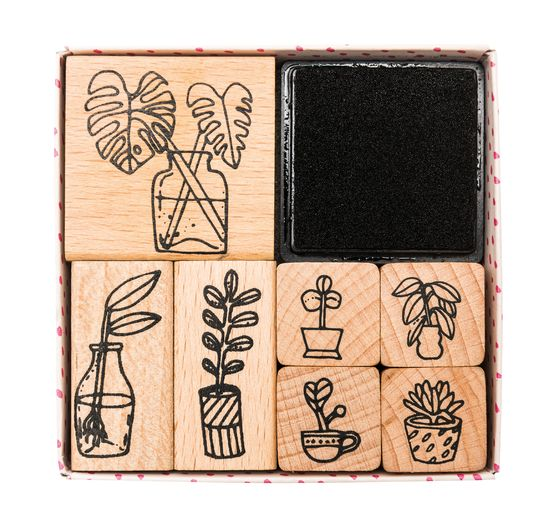 "Stempel-Set ""Plants"""
