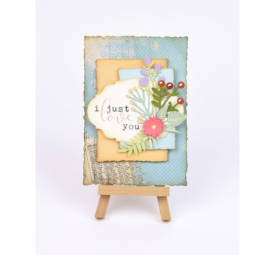 "Sizzix Thinlits Stanzschablone ""Funky Floral #3 by Tim Holtz"""