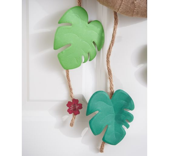 "Sizzix Bigz Stanzschablone ""Tropical Leaf by Lisa Jones"""