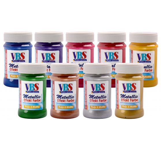 VBS Metallic Effektfarbe, 100 ml