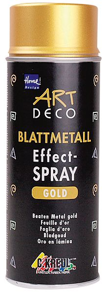 Blattmetall-Effect-Sprühfarbe