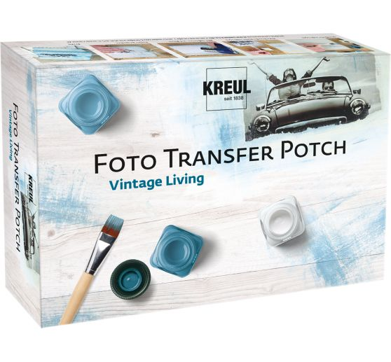 "Foto Transfer Potch Set ""Vintage Living"""