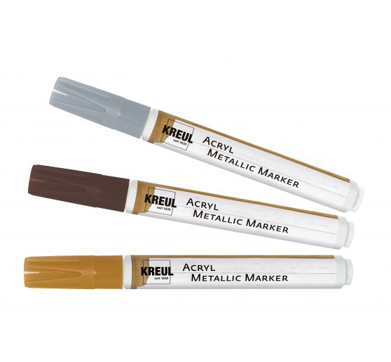 KREUL Acryl Metallic Marker medium