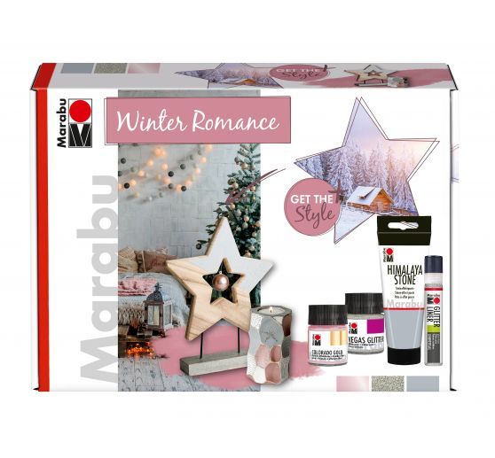 "Marabu Home & Decoration Set ""Winter Romance"""