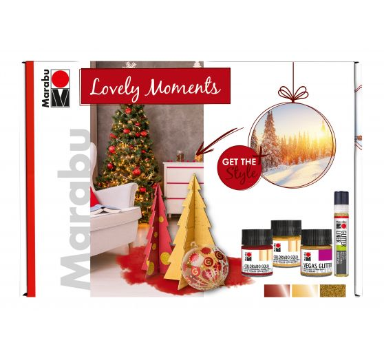 "Marabu Home & Decoration Set ""Lovely Moments"""