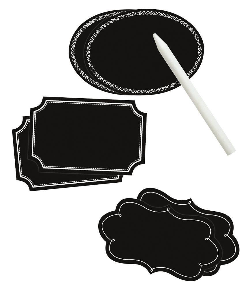 Etiketten - den Kleiderschrank mit Aufklebern organisieren
