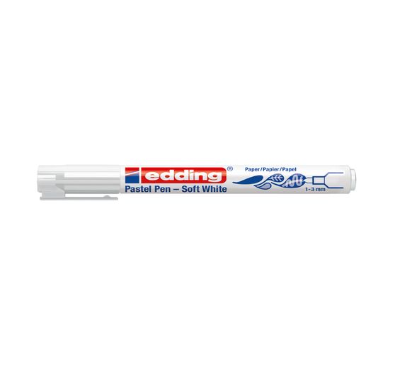 "edding 1500 ""Pastel Pen - Soft White"""