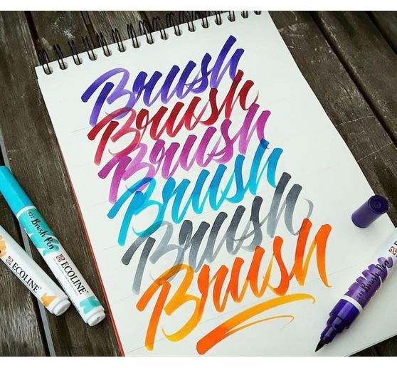 "Talens Ecoline Brush Pen Set ""15 Farben"""