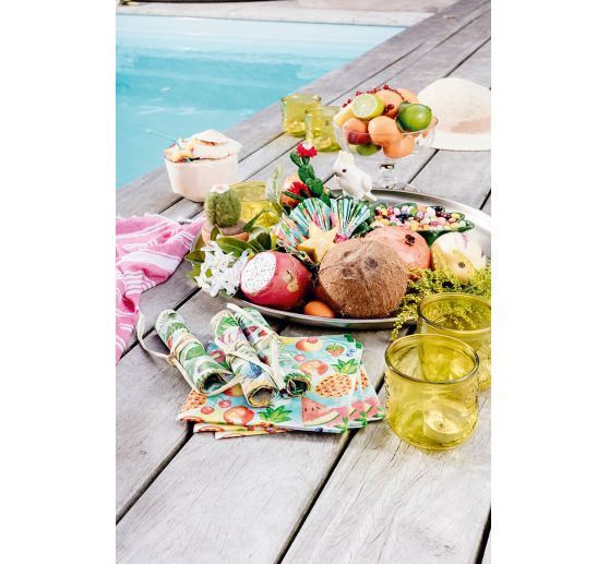 "Serviette ""Tropical Fruits"""