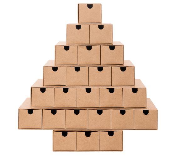 Weihnachtskalender Tannenbaum.Adventskalender Tannenbaum