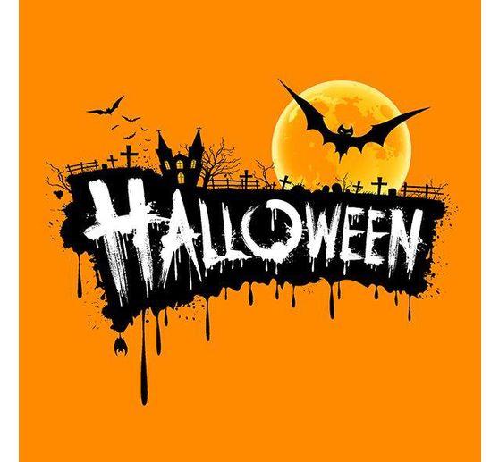 Serviette Halloween Fledermaus