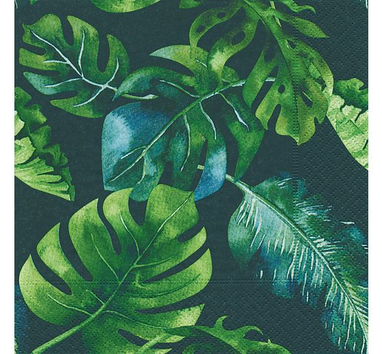 "Serviette ""Jungle Leaves"""