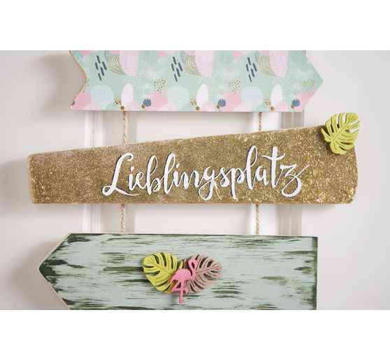 "VBS Decopatch Hot-Foil Papierset ""Greenery"""