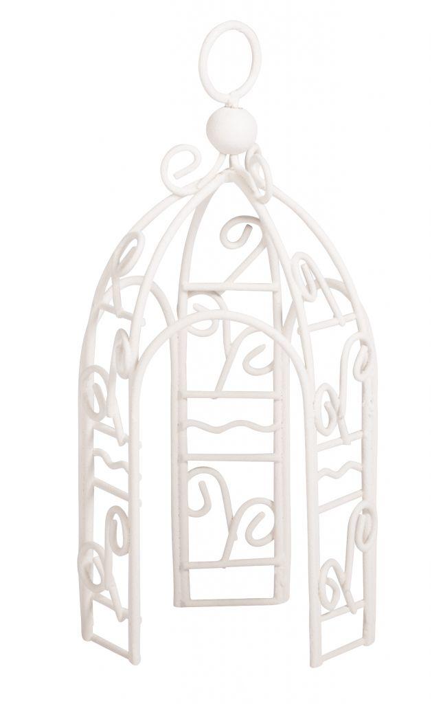 Nano-Pavillon, weiß, Ø6cmx12,5cm