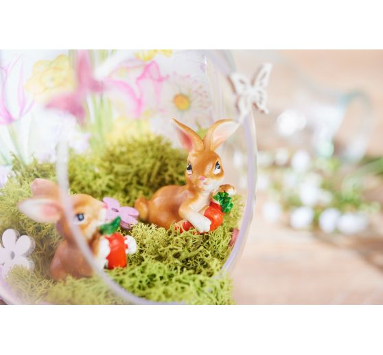 "VBS Polyresin Hase ""Toffee"", 4er-Set"