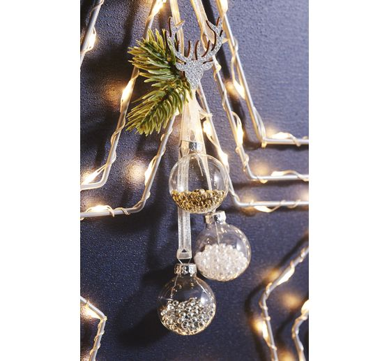 "VBS Streuteile  Weihnachtsmix ""Glamour"", Gold"