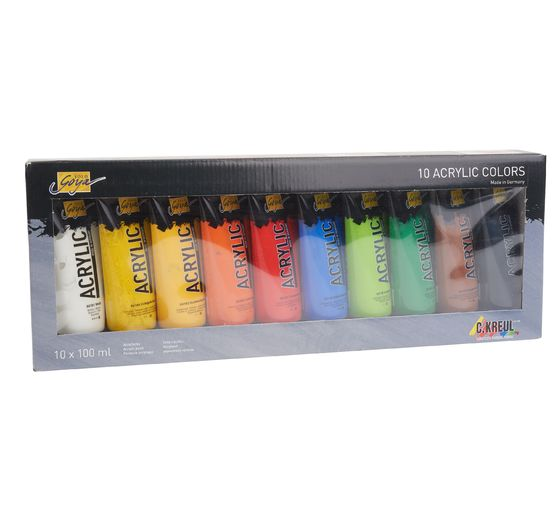 Solo Goya Acrylic 100 ml, 10er-Set