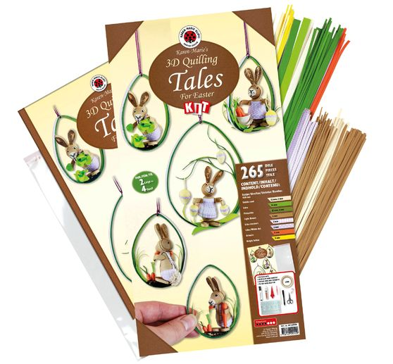 "Karen-Marie Quilling-Set ""Tales for Easter"""